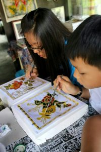 BATIK COLORING WORKSHOP