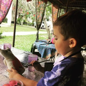 BATIK CAT PAINTING WORKSHOP